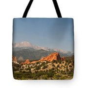 Garden Of The Gods Tote Bag by Brian Harig