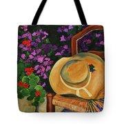 Garden Scene Tote Bag by Elise Palmigiani