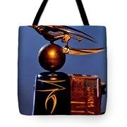 Gargoyle Hood Ornament 3 Tote Bag by Jill Reger