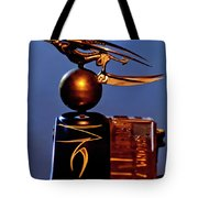 Gargoyle Hood Ornament 3 Tote Bag by Jill Reger