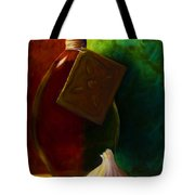 Garlic And Oil Tote Bag by Shannon Grissom