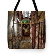 Gateway To Hell Tote Bag by Evelina Kremsdorf