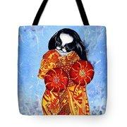 Geisha Chin Tote Bag by Kathleen Sepulveda