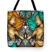 Gem And I Tote Bag by Mandie Manzano