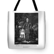 General Lee Visits The Grave Of Stonewall Jackson Tote Bag by War Is Hell Store