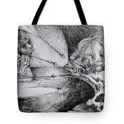 General Peckerwood In Purgatory Tote Bag by Otto Rapp
