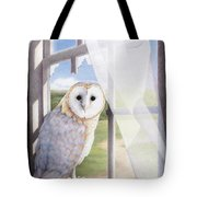 Ghost In The Attic Tote Bag by Amy S Turner