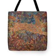 Ghost of a Rabbit Tote Bag by James W Johnson