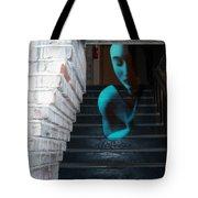 Ghost Of Pain - Self Portrait Tote Bag by Jaeda DeWalt