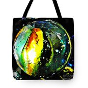 Glass Abstract 83 Tote Bag by Sarah Loft