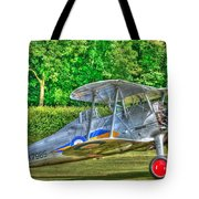 Gloster Gladiator 1938 Tote Bag by Chris Thaxter