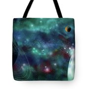 Going Further Tote Bag by Adam Vance