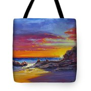 Going Going Gone Tote Bag by Laura Lee Zanghetti