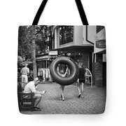 Going To The Water Tote Bag by Madeline Ellis