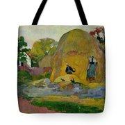 Golden Harvest Tote Bag by Paul Gauguin