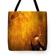 Golden Hawk 4 Tote Bag by Wingsdomain Art and Photography
