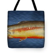 Golden Tote Bag by Kelley King