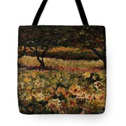 Golden Sunflowers Tote Bag by Nadine Rippelmeyer