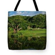 Golfito Desde La Laguna Tote Bag by Bibi Romer