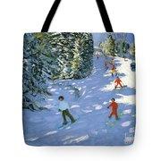 Gondola Austrian Alps Tote Bag by Andrew macara