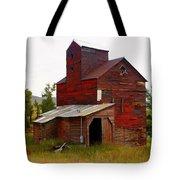 Grain Elevator Tote Bag by Marty Koch