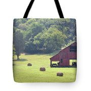 Grampa's Summer Barn Tote Bag by Jan Amiss Photography
