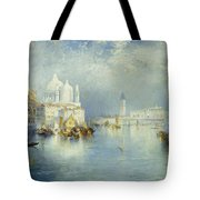 Grand Canal Venice Tote Bag by Thomas Moran