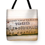 Grand Cru Classe Bordeaux Wine Cork Tote Bag by Frank Tschakert