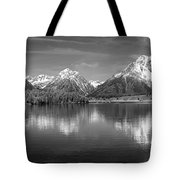 Grand Teton Tranquility Tote Bag by Sandra Bronstein