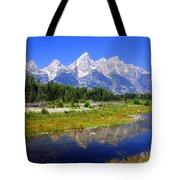 Grand Tetons Tote Bag by Marty Koch