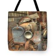 Grandpa's 1922 Studebaker Roadster Tote Bag by Scott Bert
