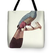 Great Touraco Tote Bag by Jacques Barraband
