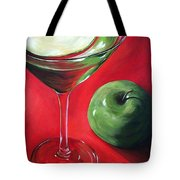 Green Apple Martini Tote Bag by Torrie Smiley