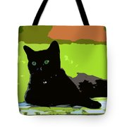 Green Eyes Tote Bag by David Lee Thompson