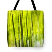Green forest abstract Tote Bag by Elena Elisseeva