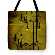 Green Light Tote Bag by Susanne Van Hulst