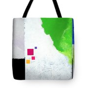 Green Movement Tote Bag by Jean Pierre Rousselet