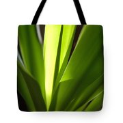 Green Patterns Tote Bag by Jerry McElroy