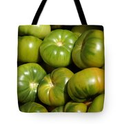 Green Tomatoes Tote Bag by Frank Tschakert