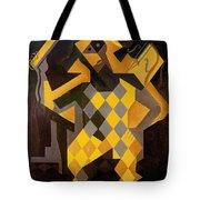 Gris: Harlequin Tote Bag by Granger