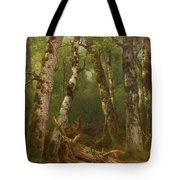 Group Of Trees Tote Bag by Asher Brown Durand
