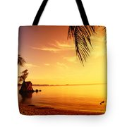 Guam, Agat Bay Tote Bag by Dave Fleetham - Printscapes