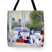 Guess Who's Coming To Dinner Tote Bag by Terry  Chacon