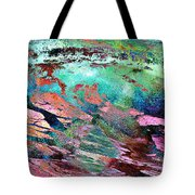 Guided By Intuition - Abstract Art Tote Bag by Jaison Cianelli