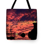 Guiding The Way Tote Bag by Shane Bechler