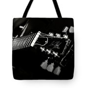 Guitarist Tote Bag by Stelios Kleanthous