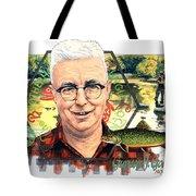 Gurney J. Godrey Tote Bag by John D Benson