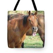 Haaaaa Tote Bag by Amanda Barcon