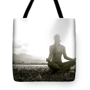 Hanalei Meditation Tote Bag by Kicka Witte - Printscapes