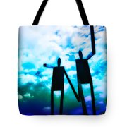 Hand in Hand Tote Bag by Bill Cannon